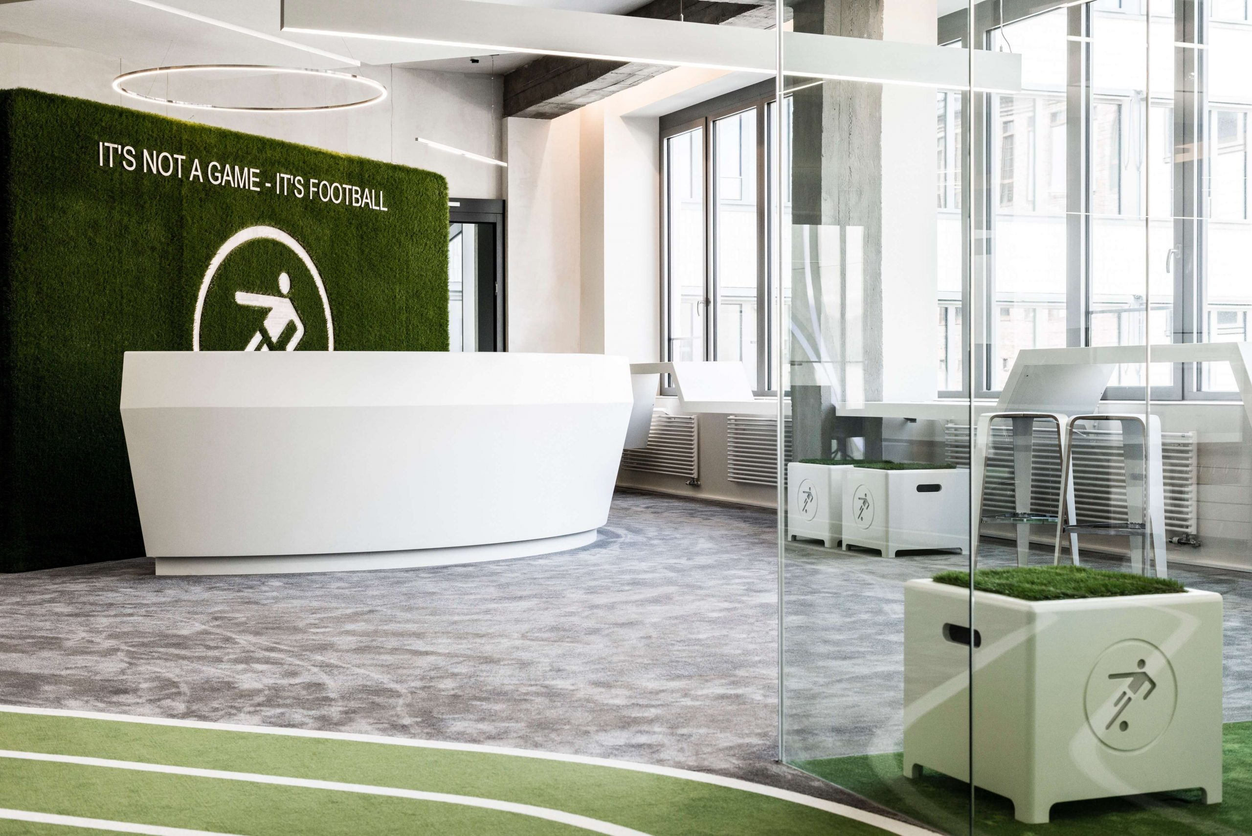 Startup Onefootball Office Design TKEZ Architekten It's not a game