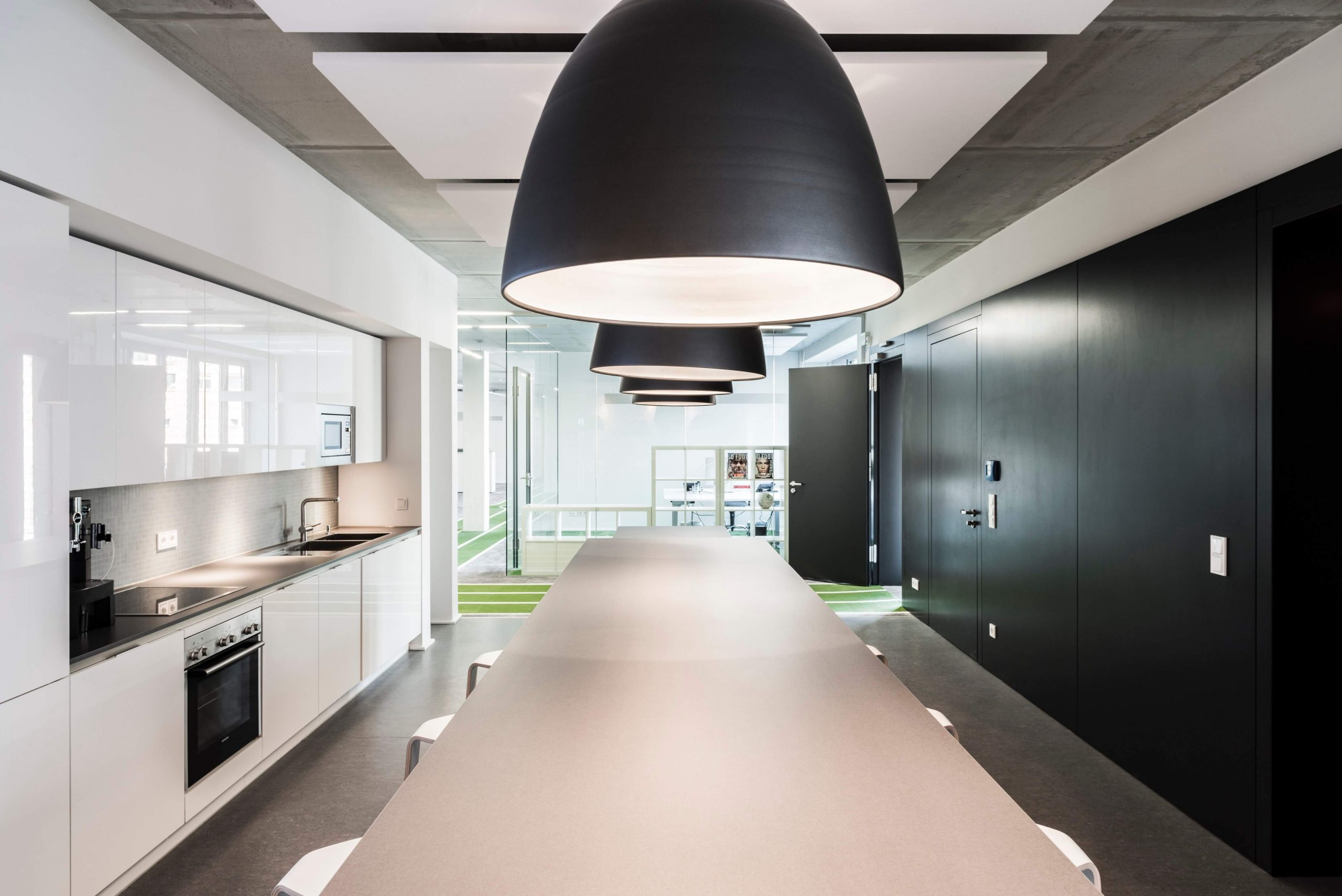 Startup Onefootball Office Design TKEZ Architekten Küche