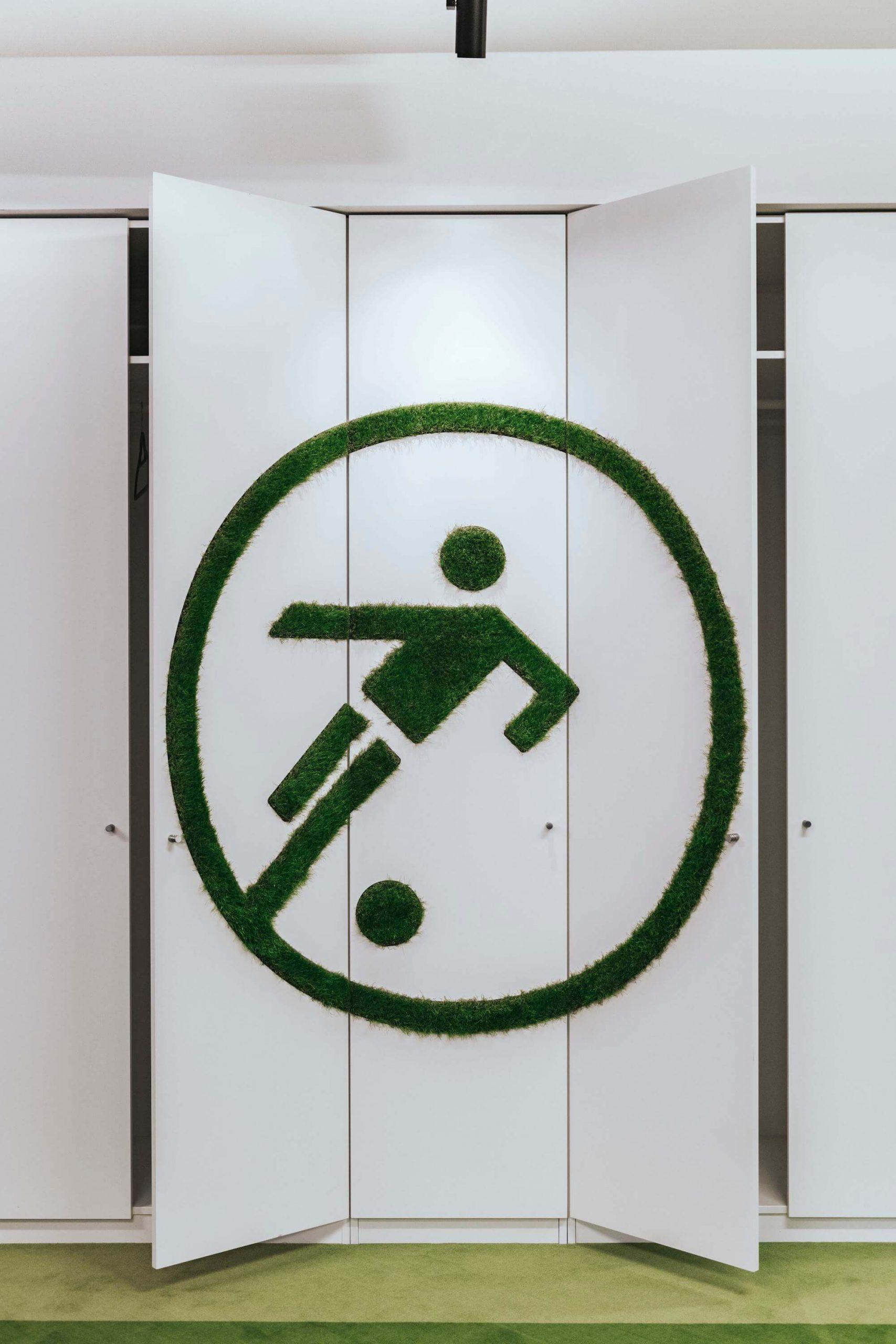 Onefootball Startup Büro TKEZ Architekten Fussball Logo