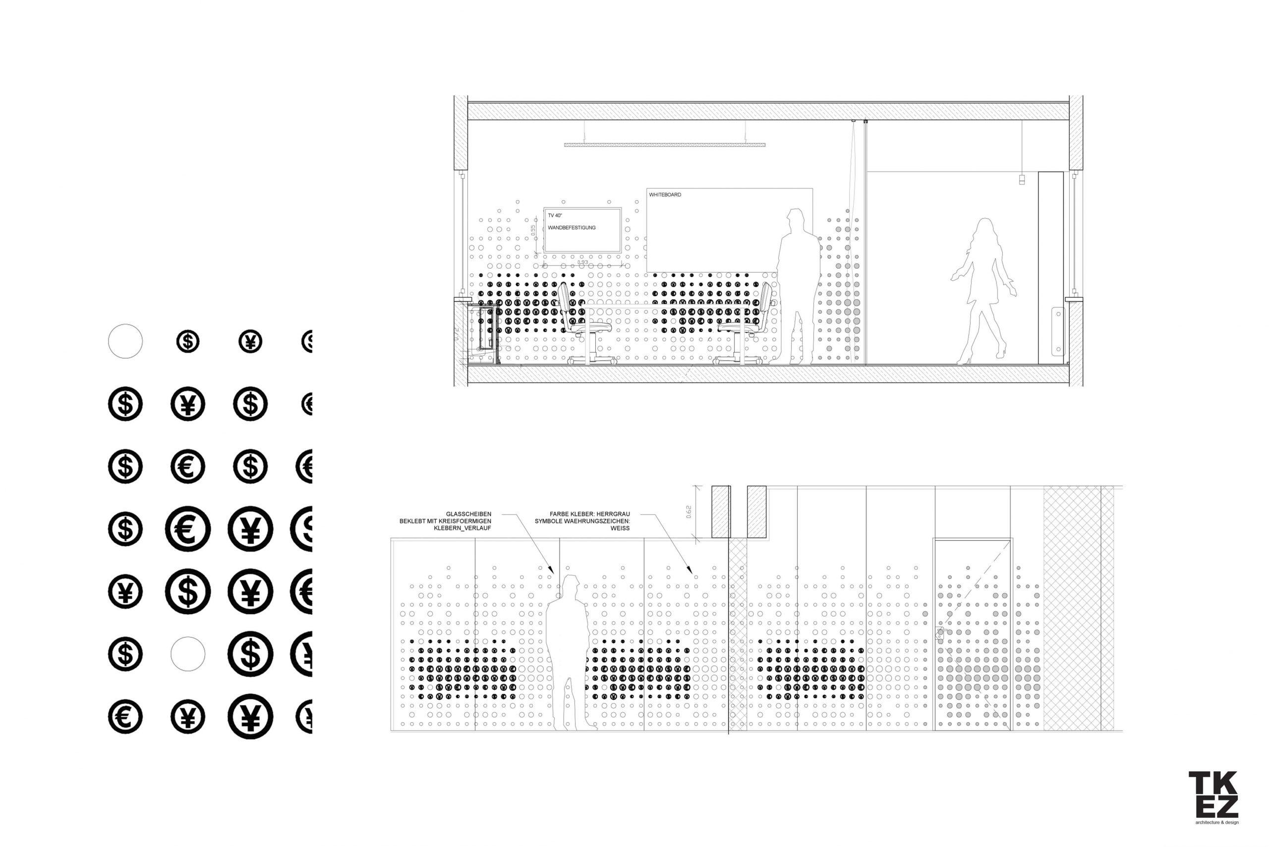 New Work Büro Startup N26 Architekturbüro TKEZ Währung Design