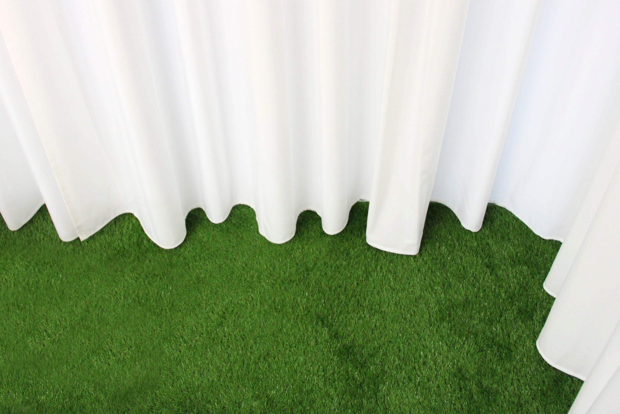 Startup Onefootball Office Design TKEZ Architekten Bodenbelag mit Vorhang