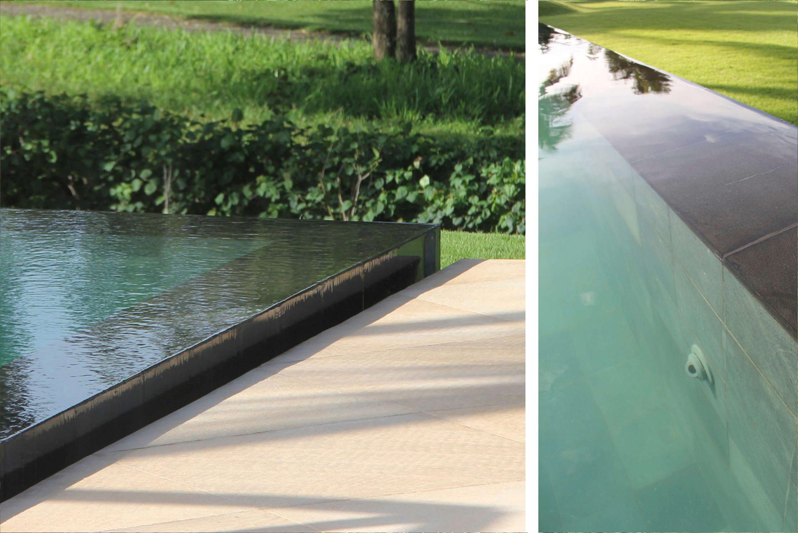 Exklusive Wohnresidenz Architekturbüro TKEZ Caribali Pool Details