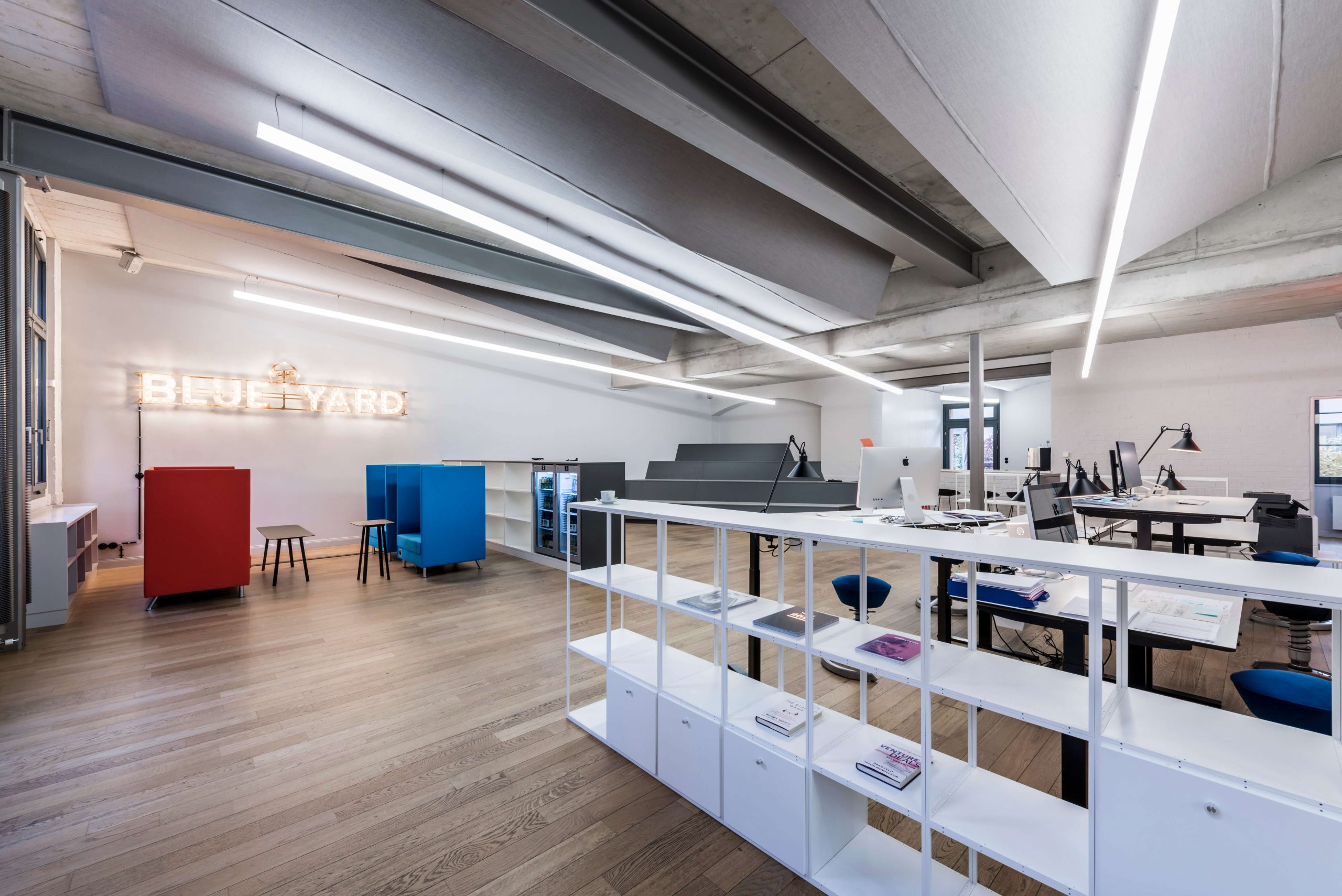 Workspace Design Blue Yard Berlin TKEZ Architekten Open Office