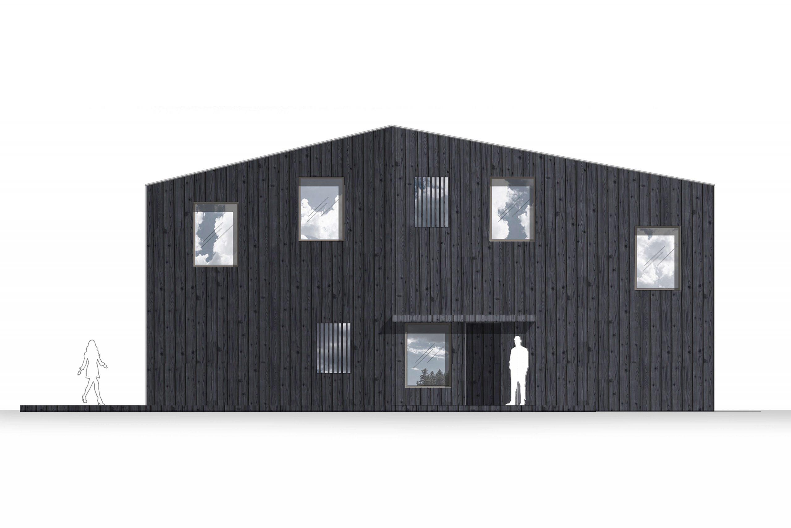 Privathaus Architekturbüro TKEZ Holzhaus Berliner Umland