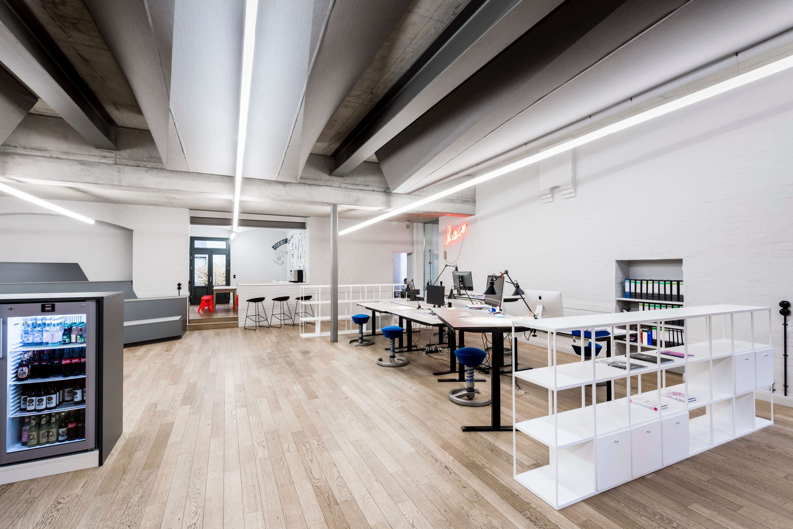 Workspace Design Blue Yard Berlin TKEZ Architekten Startup