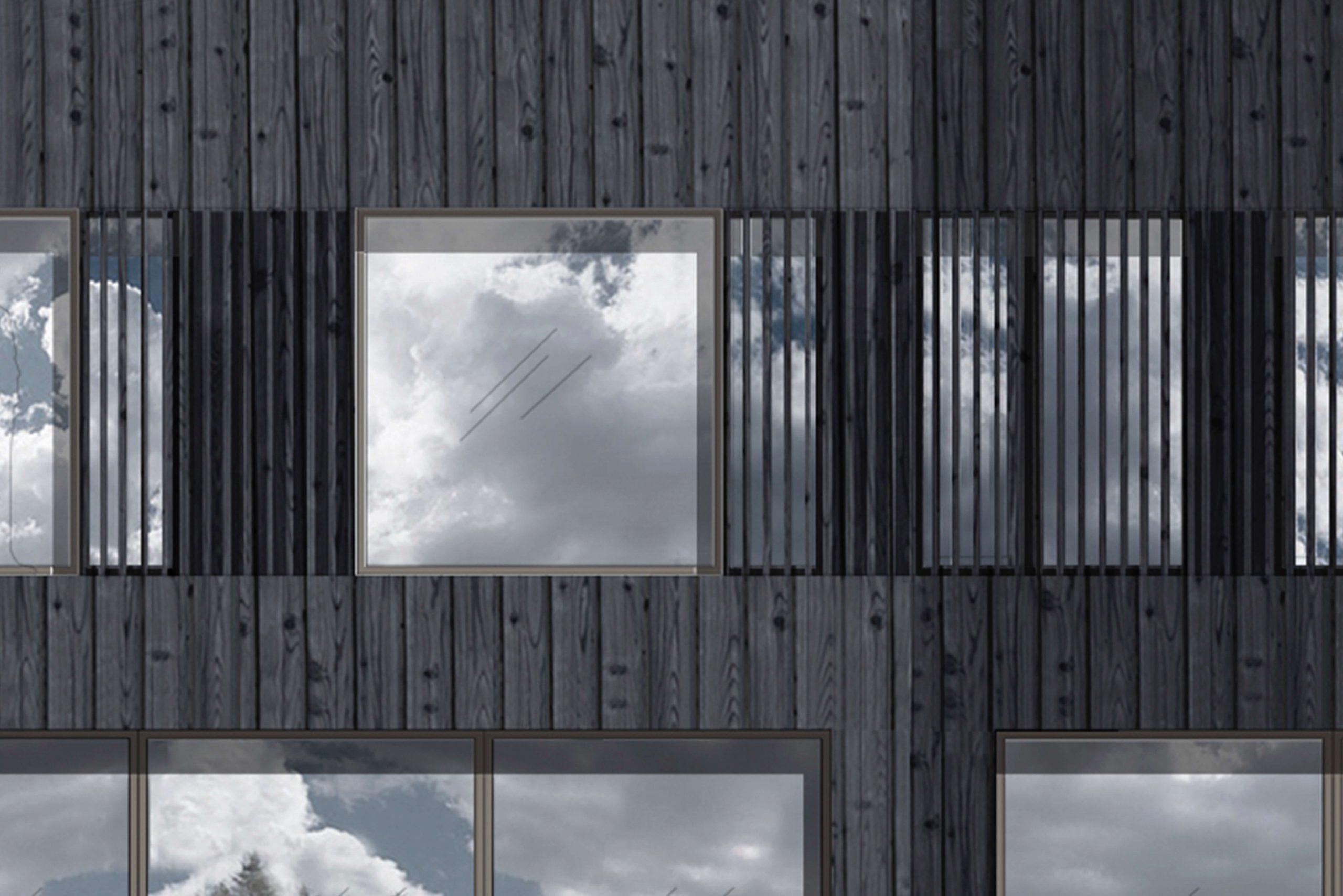Privathaus Architekturbüro TKEZ Holzhaus am See