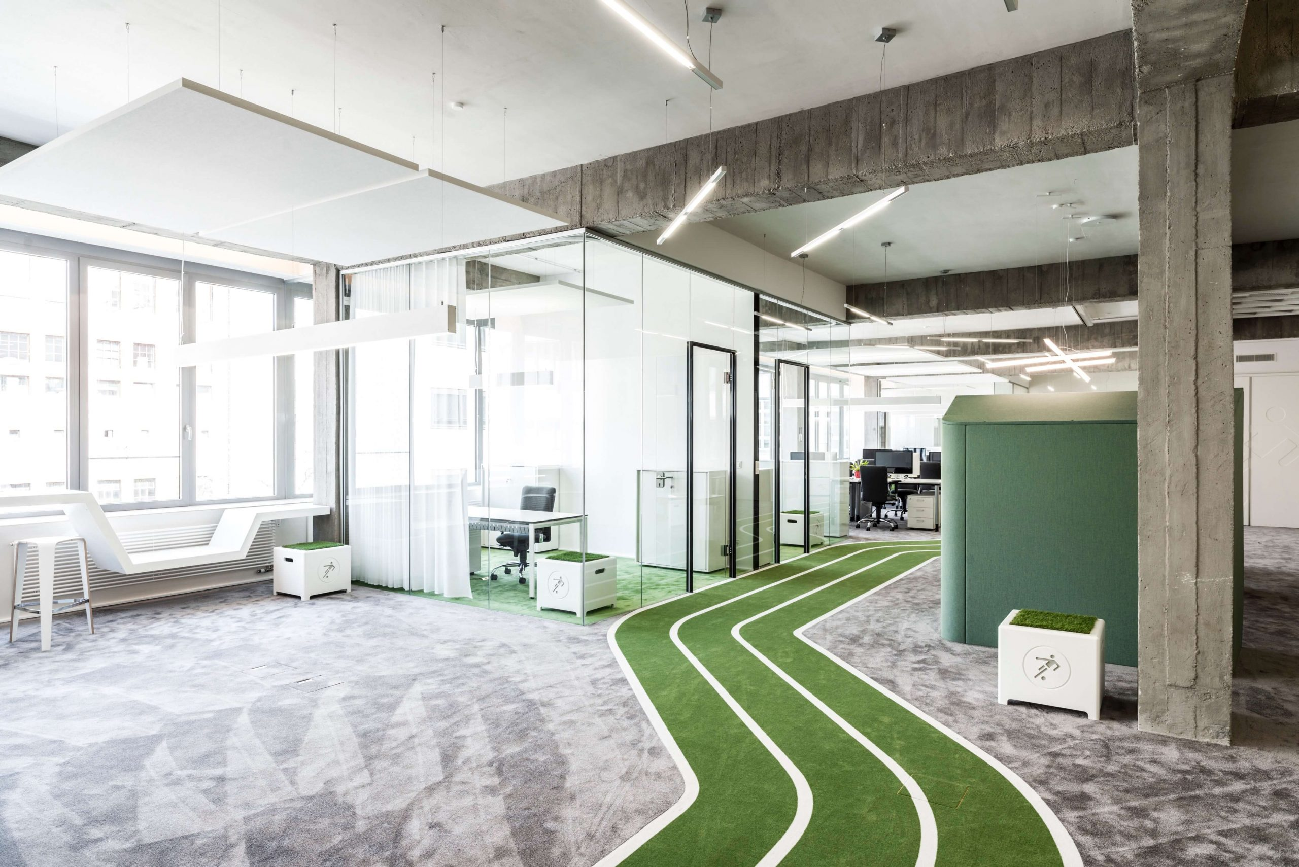 Startup Onefootball Office Design TKEZ Architekten Einzelbüro