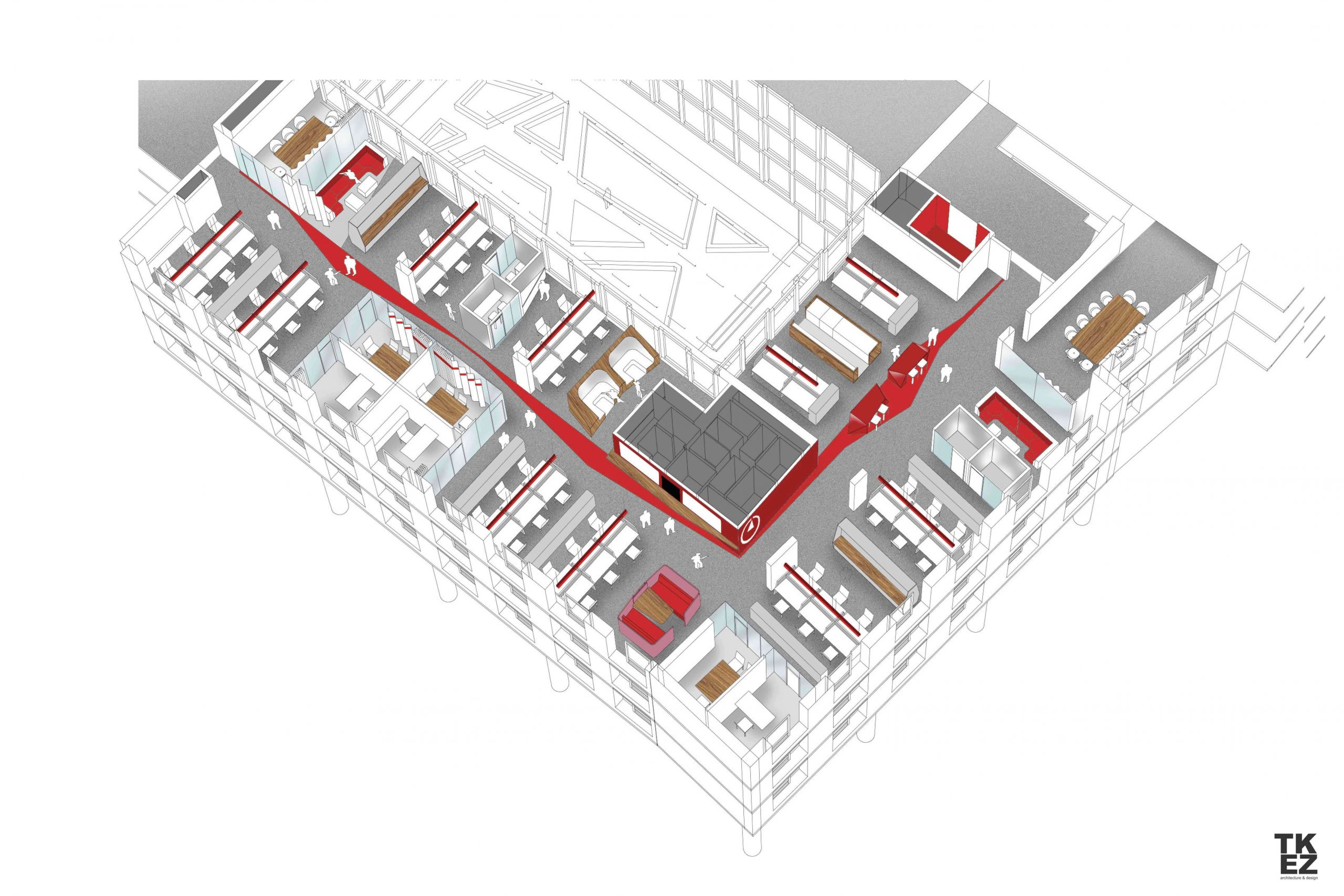 Neues Büro Bain & Company TKEZ München 4