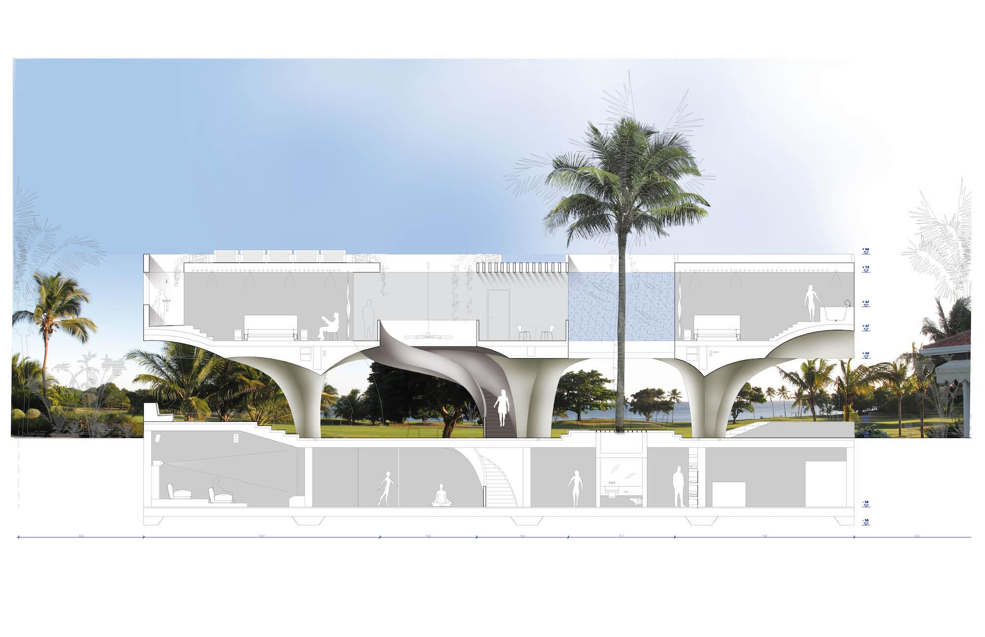 Privatvilla Privathaus TKEZ Architekturbüro Wohnhaus Projekte