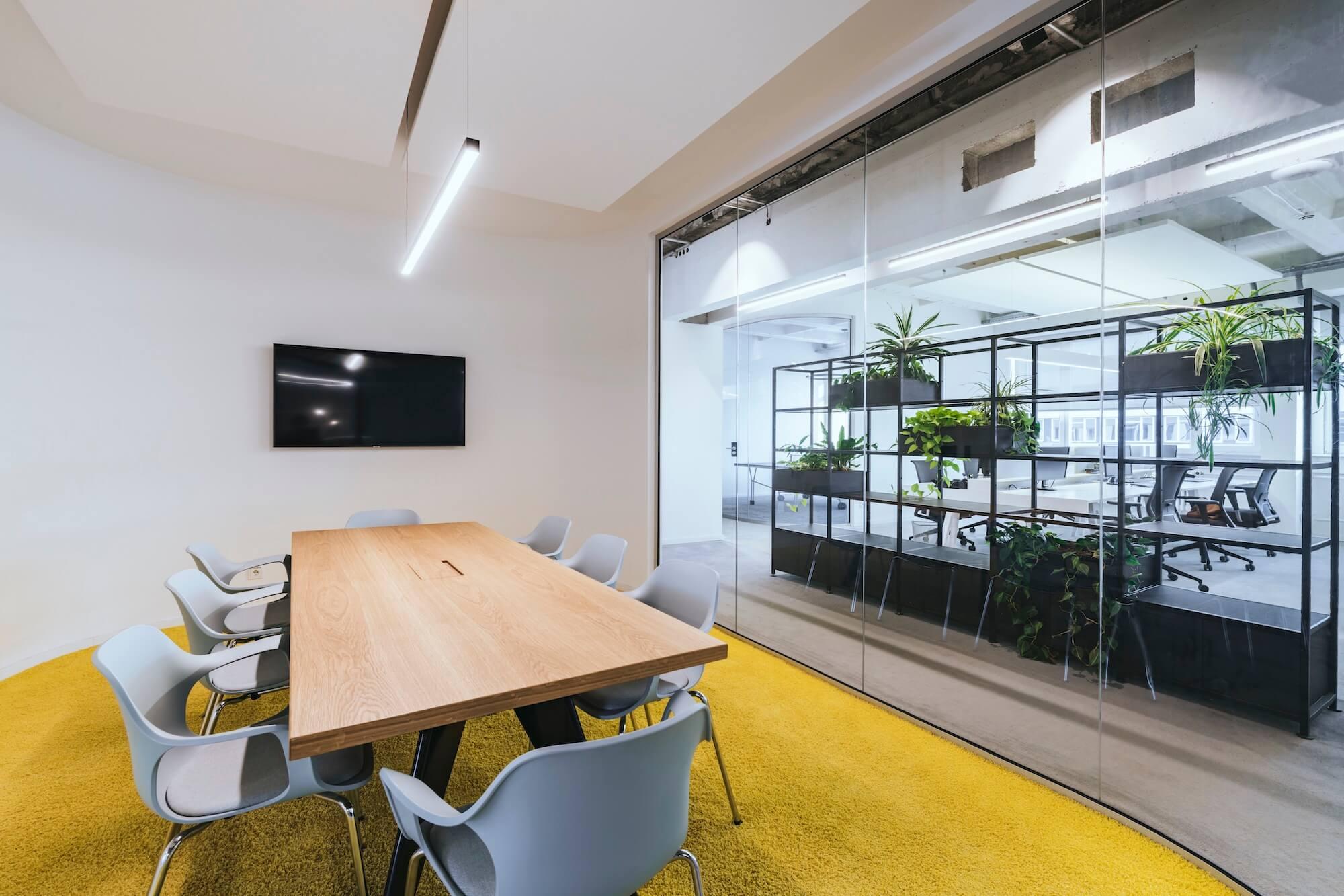 Open Space Büro Startup Kitchen Stories Architekturbüro TKEZ New Work Design