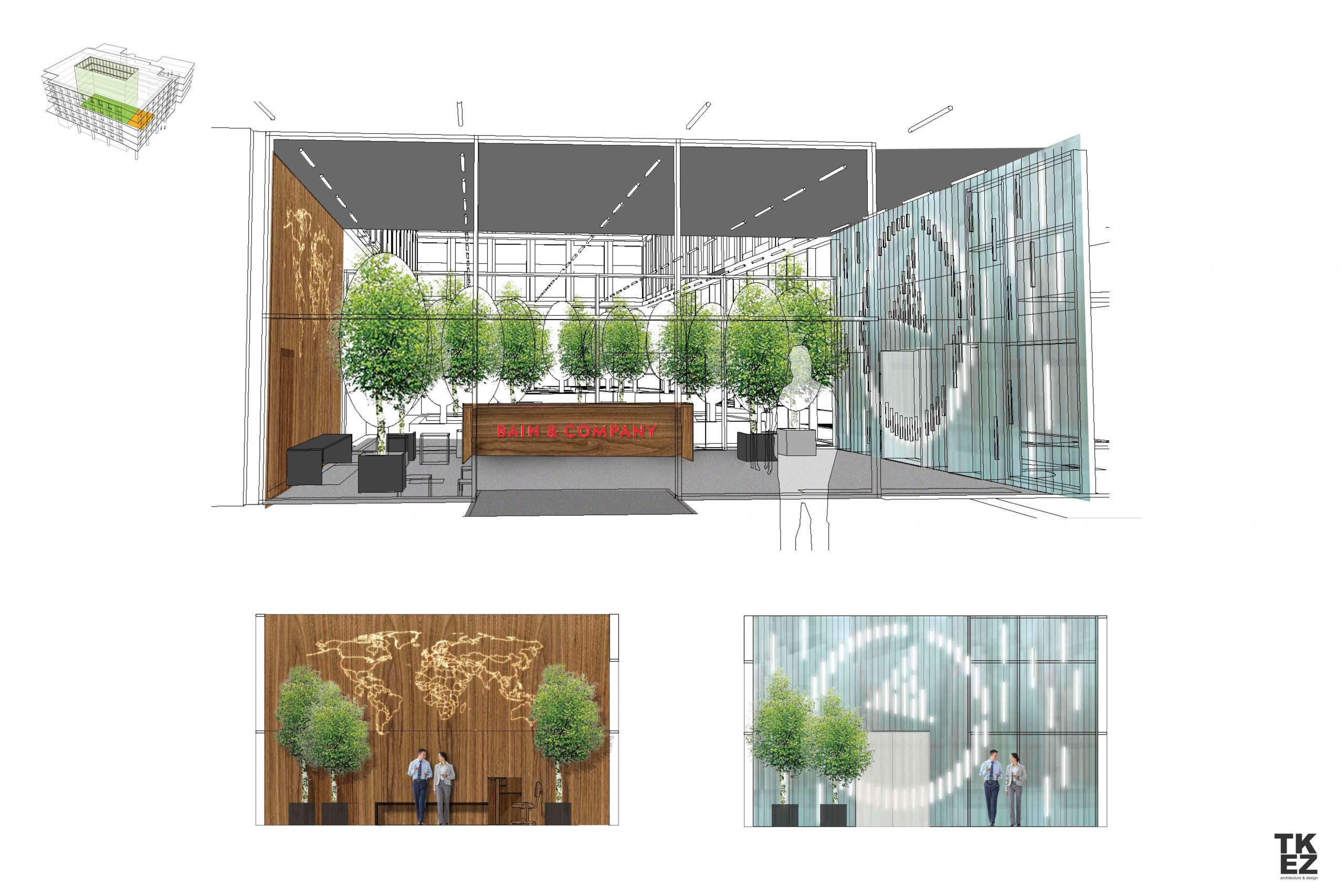 Neues Büro Bain & Company TKEZ München 7