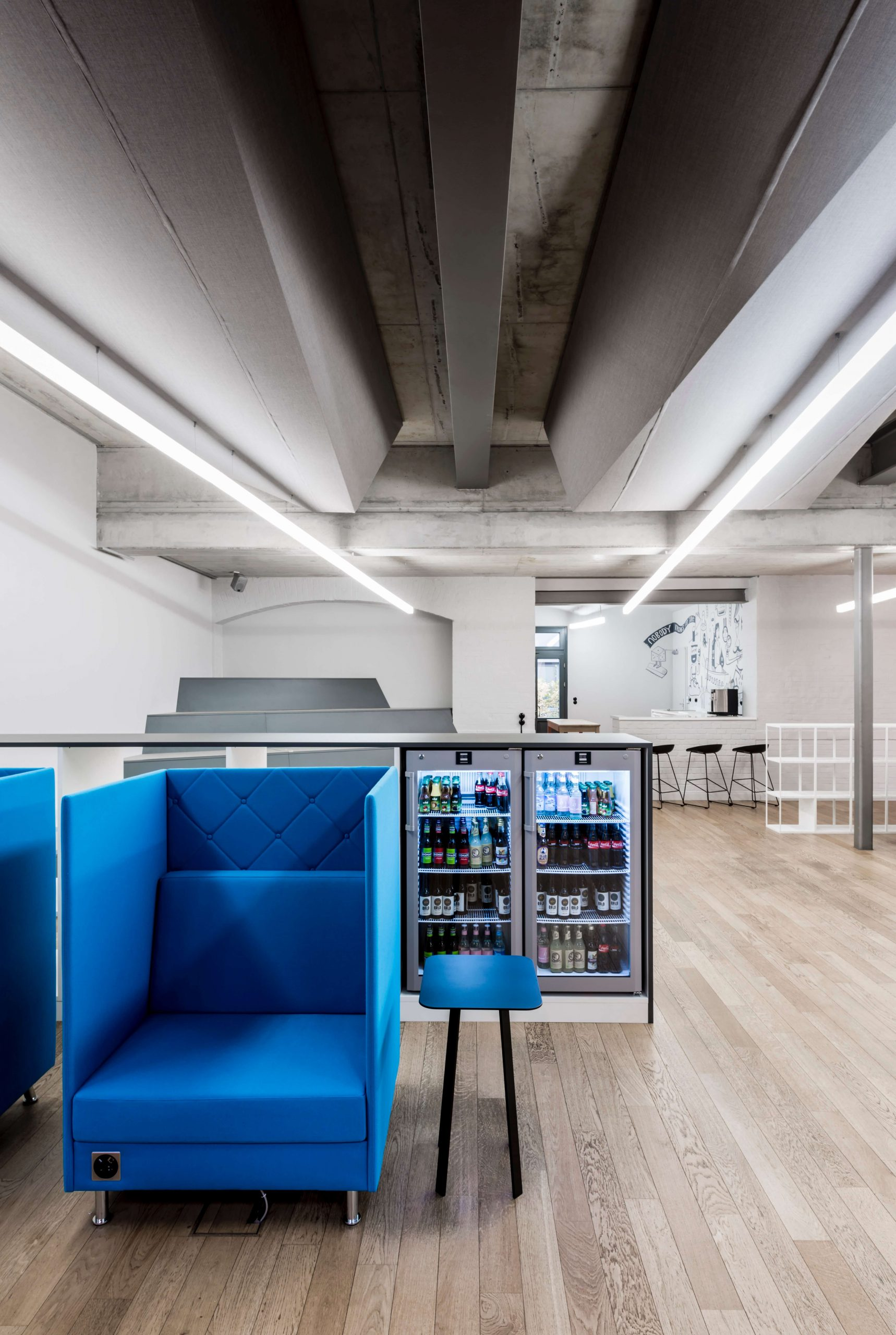 Workspace Design Blue Yard Berlin TKEZ Architekten Sessel