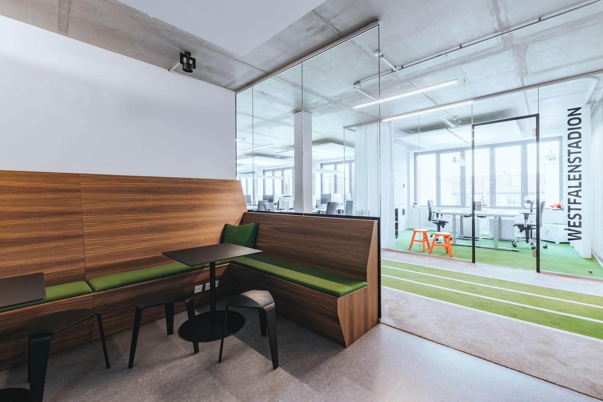 Onefootball Startup Büro TKEZ Architekten Westfalenstadion Büro